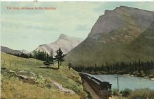 Canada Postcard - The Gap - Entrance to The Rockies   N726
