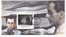 JVC CACHETS - 2013 MODERN ART IN AMERICA - MAN RAY FIRST DAY COVER FDC