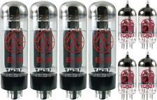 JJ Tesla Premium Tube Complement Set for Laney PT-1000 AOR Guitar Amp Amplifier