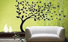 Tree Floral Decor Funny Children Mural  Wall Art Decor Vinyl Sticker z716