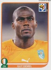N°536 GUY DEMEL # IVORY COAST STICKER PANINI WORLD CUP SOUTH AFRICA 2010
