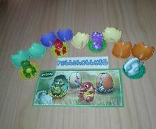DINOSAURS COMPLETE SET WITH ALL PAPERS KINDER SURPRISE 2017/2018