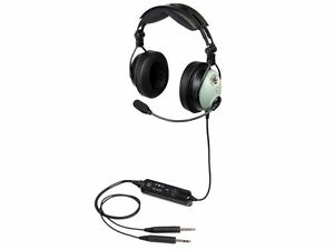 David Clark DC ONE-X Pilot Aviation Headset - GA Plugs & Bluetooth - 43102G-01