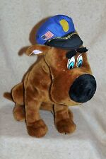 Scooby Doo Plush Dog with Police Hat