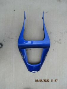 98-02 Yamaha R1 Rear Upper & Lower Tail Driver Seat Cowling Fairing OEM