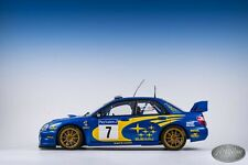 1/18 SUBARU Impreza NEW AGE WRC 2003 Winner Rally France