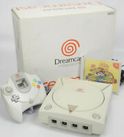 Dreamcast Console System Boxed tested Ref 039013077196 HKT3000 SANWA 1999 NTSC-J