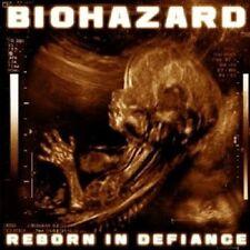 BIOHAZARD - REBORN IN DEFIANCE CD 13 TRACKS NEU
