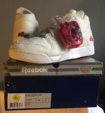 2006 Reebok COURT VICTORY PUMP ALIFE TENNIS BALL WHITE BLACK RED 6-172152 DS 13