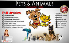 400+ PLR Articles on Pets and Animals Niche Private Label Rights