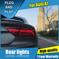 For Audi A7 Red LED Rear Lamps Assembly LED Tail Lights 2012-2018
