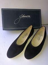 Vintage Johansen Women's Shoes Flats Heels Brown 7 1/2 7.5 D Never Worn in Box
