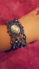 Ladies turquoise bracelet, bohemian style