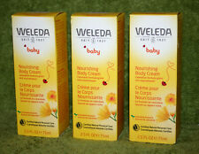 Weleda Baby Calendula Body Nourishing Cream Delicate Skin 2.5 Ounce (Pack Of 3)