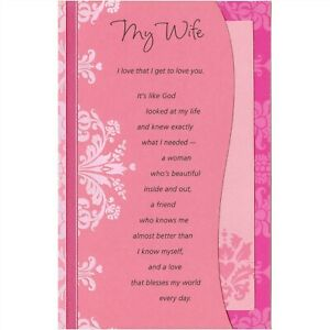 American Greetings Valentine's Day Card: Wife...I Know What a Gift You Are...