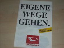 45456) Daihatsu Rocky Applause Cuore Prospekt 199?