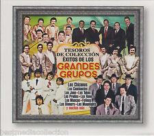 SEALED Exitos De Los Grandes Grupos Tesoros De Coleccion 888750741721 BRAND NEW
