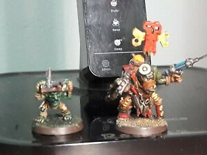 Orks Painboy Metal w/ Grot Orderly pro painted