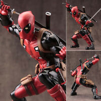 6in. Avengers X-Men Hero Deadpool Statue Action Figure PVC ARTFX+ Toys