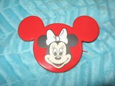 New Vintage Disney Minnie Mouse Red Face Ears Coin Purse