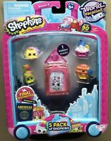 Shopkins Series 8 Wave 3 Mini-Figures 5-Pack