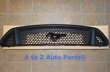 NEW 2015-2017 Ford Mustang 5.0 GT Black UPPER Radiator Grille With Emblem, OEM