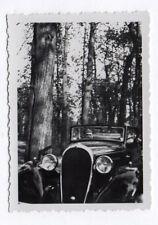 PHOTO ANCIENNE Automobile Auto Voiture Renault Peugeot Citroën Vers 1930-1950