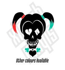Harley Quinn Vinyl Sticker Decal suicide squad car (Window Optional) Joker