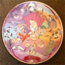 Alice Welcome To Wonderland ~ Le Bradford Exchange Musical Memories Plate ~ Coa