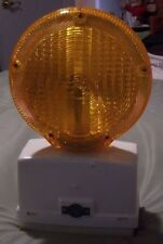 NightFlasher Incandescent Warning Flashing Barricade Light with Photocell,New