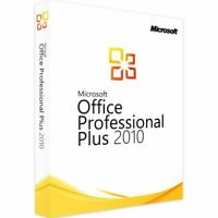 Microsoft Office 2010 Professional Plus Vollversion Software Lizenz Key E-Mail
