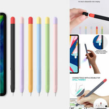 For Apple Pencil 1st 2nd Generation Soft Silicone Pen Protective Case Cover Skin
