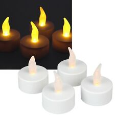 LED Tealights Set Flickering LED Tealight Candle Candles Tea Lights with Battery