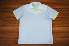 NIKE GOLF TOUR PERFORMANCE STRETCH POLO SHIRT MENS SIZE XLARGE GRAY COLOR MINT