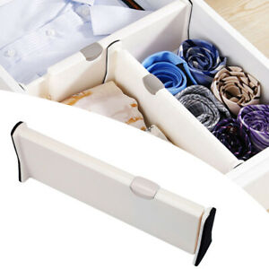 Creative Retractable Drawer Divider  Drawers Partition  Board Drawer Organizer