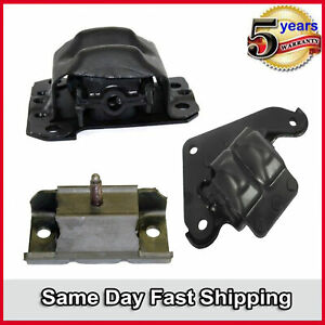 93-97 Pontiac Firebird Chevrolet Camaro 5.7L For Set Engine Motor & Trans Mount
