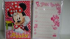 5 Einladungskarten inkl.Umschläge--Disney Minnie Maus --Party--Kinder Geburtstag