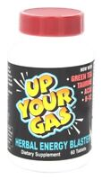 Hot Stuff UP YOUR GAS Energy Blaster 60 Tabs FOCUS, STAMINA, MENTAL CLARITY
