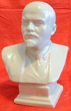 24cm BUSTO LENIN SOVIETICO PORCELLANA COMMUNISM USSR CCCP porcelain