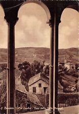 Cartolina San Benedetto Val di Sambro panorama da Villa Marsigli 1957
