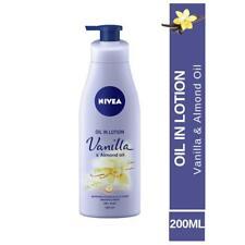 Nivea Vanilla and Almond Oil in lotion, 200 ml dry skin  fs