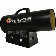 Mr Heater Portable Propane Forced Air Heater Quiet Burn Technology MHQ170FAVT