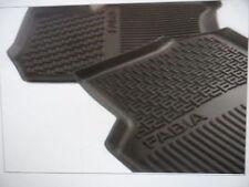 Genuine Skoda Fabia front rubber mats 2015 >