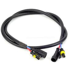 100cm Xenon HID Light Ballast High Voltage Extension Wire Harness Cable BDRG