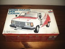 ESCI 1/24 PARIS-DAKAR TRANSIT VAN CANON MODEL KIT 1982