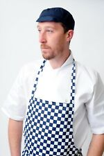 CHEF SKULL CAP WITH PEAK CHEFS HAT HYGIENE CATERING RESTAURANT VARIOUS COLOURS