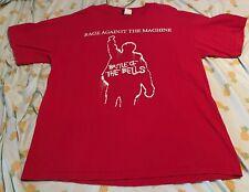 Rage Against The Machine 2007 Reunion Tshirt Xl Rare Vintage Rock The Bells