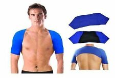 Double Shoulder Neoprene Wrap Support Arthritis Injury Brace Gym Pain Relief