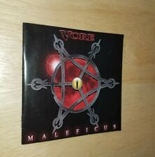 VORE Maleficus CD Death Metal Underground Legion Of Martyrs Misery Embrace Cult