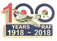 100 Years of RAF Royal Air Force Enamel Lapel Pin Badge